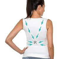 Percko - Lyne Up Correcteur de Posture - Sous Vêtement Femme - Lavable 30°- Soulage Les Douleurs Dorsales Cou Cervicales et Épaules