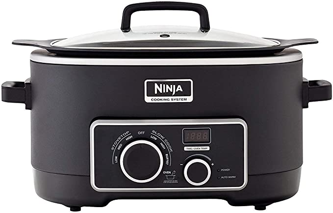 Amazon.com: Ninja 3-in-1 Cooking System (MC751): Kitchen ...