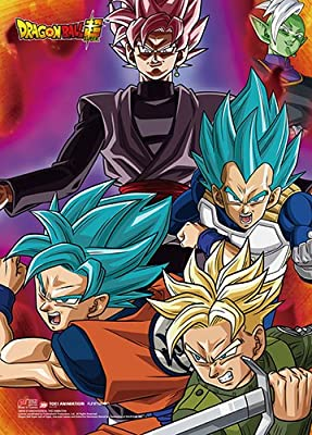 amazon com dragon ball super goku vegeta trunks zamasu and goku