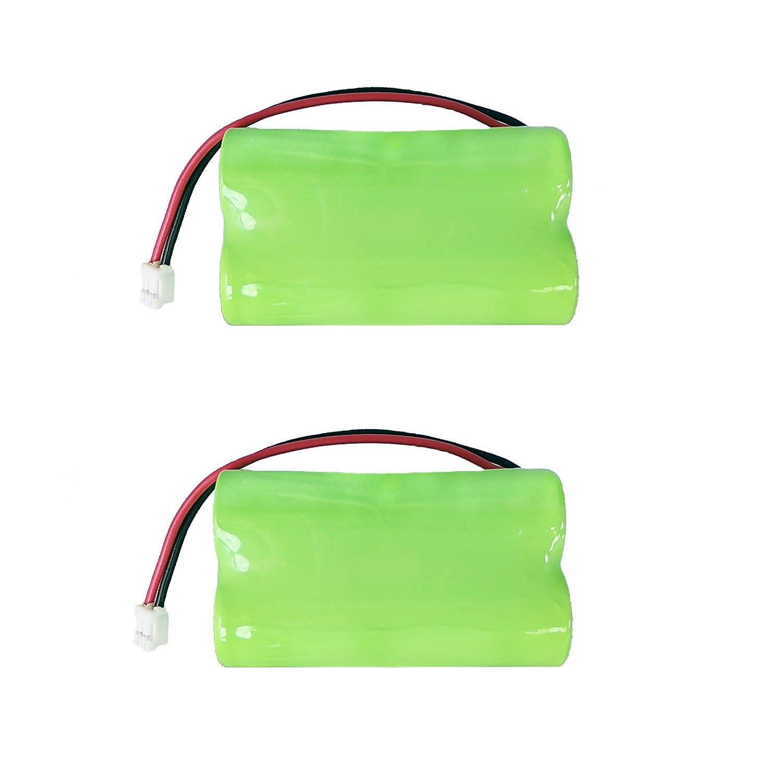 2個パックSummer Infant 02095 Aバッテリー – 交換用バッテリーfor Baby Monitor (1800 mAh, 4.8 V, NI - MH)   B074VP87CN