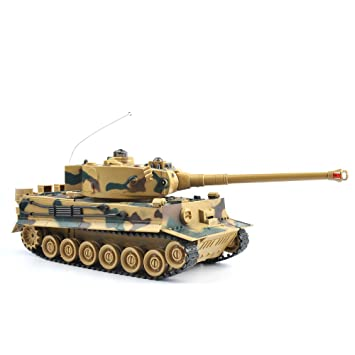 GizmoVine RC Maqueta de Tanque Escala 1:28 Tanque de Batalla ...