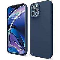 """elago Liquid Silicone Case Designed for iPhone 12 Pro Max Case (6.7""""), Premium Silicone, Full Body Protection : 3 Layer…"""