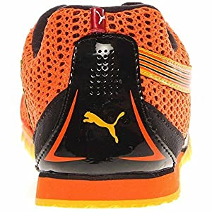 Puma Complete TFX Distance III Track Shoe,Orange/Black/Spectra Yellow,13 D US