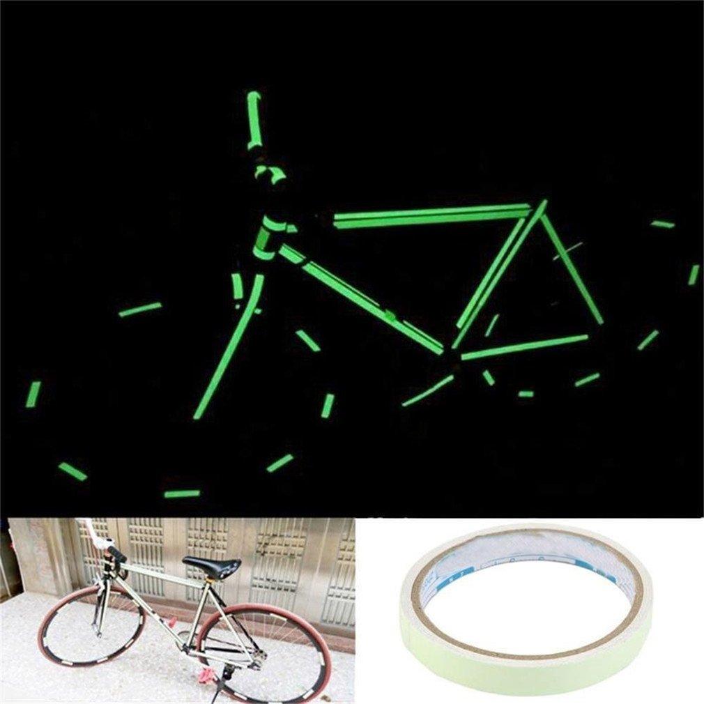 VWH Lumineux Fluorescent Bande Haute Intensit/é Autocollant Ruban R/éfl/échissant Auto-adh/ésif Roue de Camion V/élo Moto Ruban /à Bande 10mm*3m