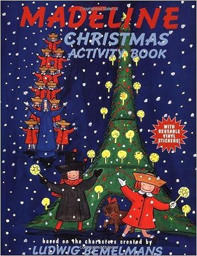 Madeline's Christmas Activity Book: Ludwig Bemelmans, Jody Wheeler ...