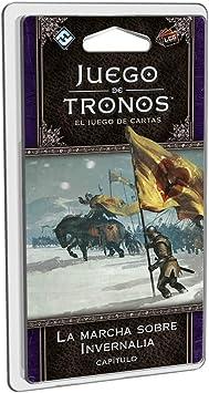 Fantasy Flight Games- Juego de tronos lcg: la marcha sobre invernalia - español, Multicolor (FFGT32) , color/modelo surtido: Amazon.es: Juguetes y juegos