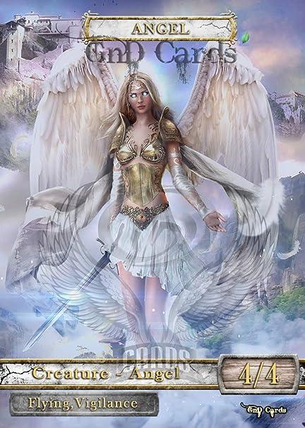3x Angel #25 Custom Altered Tokens MTG for Serra the Benevolent