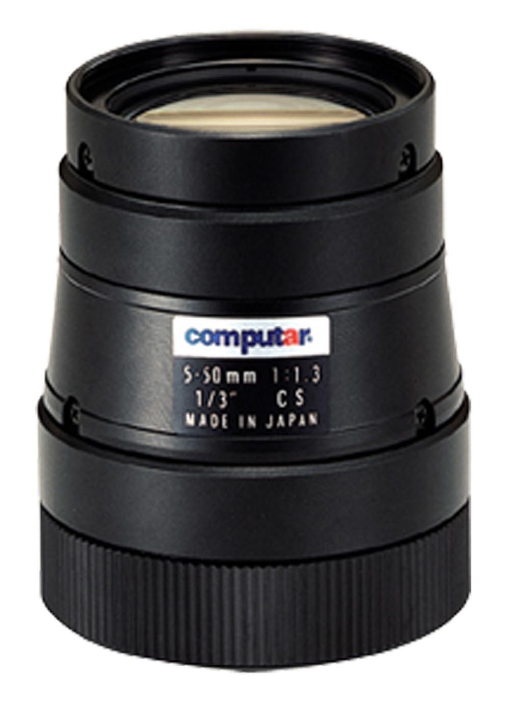 Computar T10Z0513CS 0.33-Inch Varifocal lens 5-50mm F1.3 Manual Iris by Computar