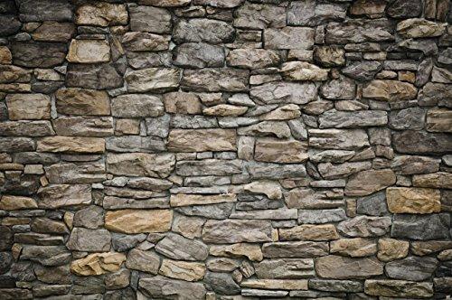 TSlook Fashions Doormat Grey Stonewall Indoor/Outdoor/Front Welcome Door Mat(30