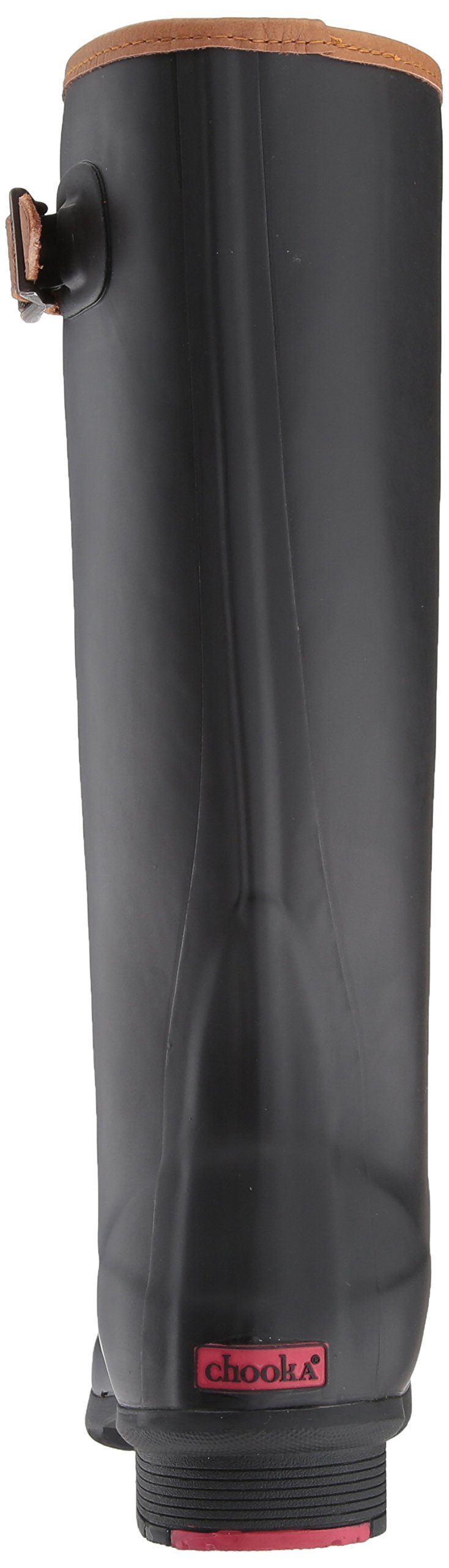 Chooka Women's Tall Memory Foam Rain Boot, Black, 7 M US by Chooka (Image #2)
