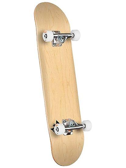 Mini-Logo Skateboard Full Deck Chevron Shape ML112 K12 7.75x31.75, Natural