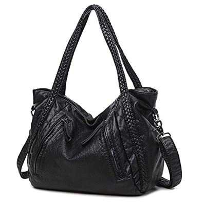03bdae5888 Amazon.com  Large Soft Leather Bag Women Handbags Ladies Crossbody Bags For  Women Shoulder Bags Female Big Tote Sac A Main Famous Brand  Shoes