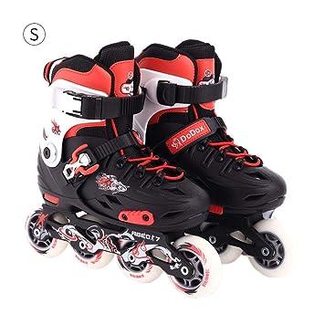 Patines de ruedas ajustables patines en línea, un soporte plano de ...