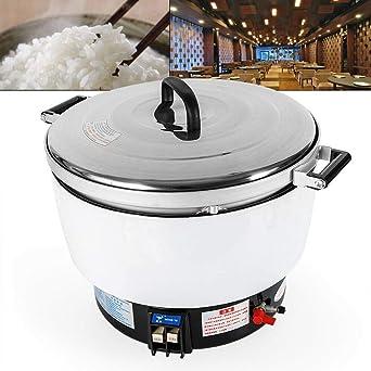 Amazon.com: Cocina de arroz comercial 10L 50 taza de gran ...