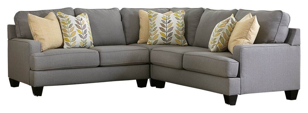 Groovy Ashley Furniture Signature Design Chamberly 3 Piece Sectional Left Arm Facing Loveseat Wedge And Right Arm Facing Loveseat Gray Home Interior And Landscaping Palasignezvosmurscom