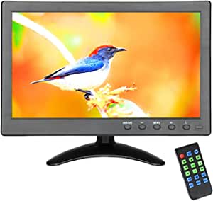 Loncevon -10.1 inch Portable LCD Monitor for CCTV Security Surveillance with HDMI VGA AV USB Port; Raspberry pi Display Screen ; 1024x600 Resolution .(NOT USB powered)