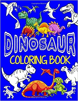 Dinosaur Coloring Book ~ Jumbo Dino Coloring Book For Children ...