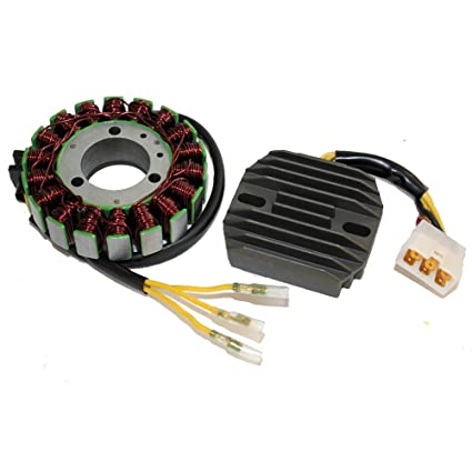 Caltric STATOR & REGULATOR RECTIFIER Fits KAWASAKI VN750 VULCAN 750 on