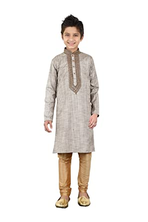 a11d35caad Image Unavailable. Image not available for. Color: daindiashop-USA Baby/Boy  Readymade Kurta Pajama Indian Designer ...