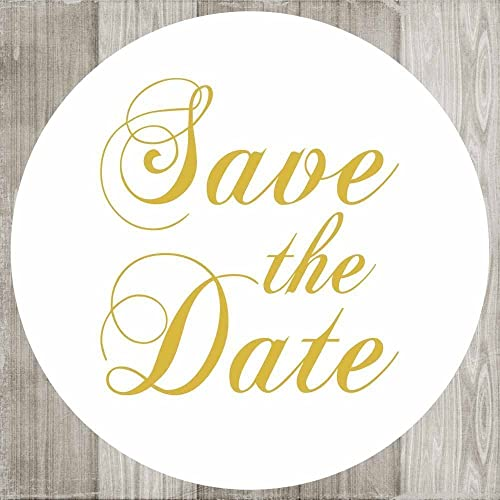 """30 save the date country rustic wedding invitation stickers envelope seals 1.5/"""""""