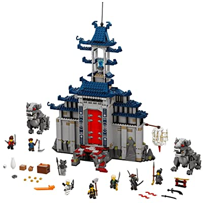 LEGO Ninjago Movie Temple Ultimate Ultimate Weapon 70617 Building Kit (1403 Piece): Toys & Games
