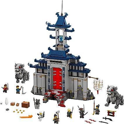 LEGO Ninjago Movie Temple Ultimate Ultimate Weapon 70617 Building Kit (1403 Piece)