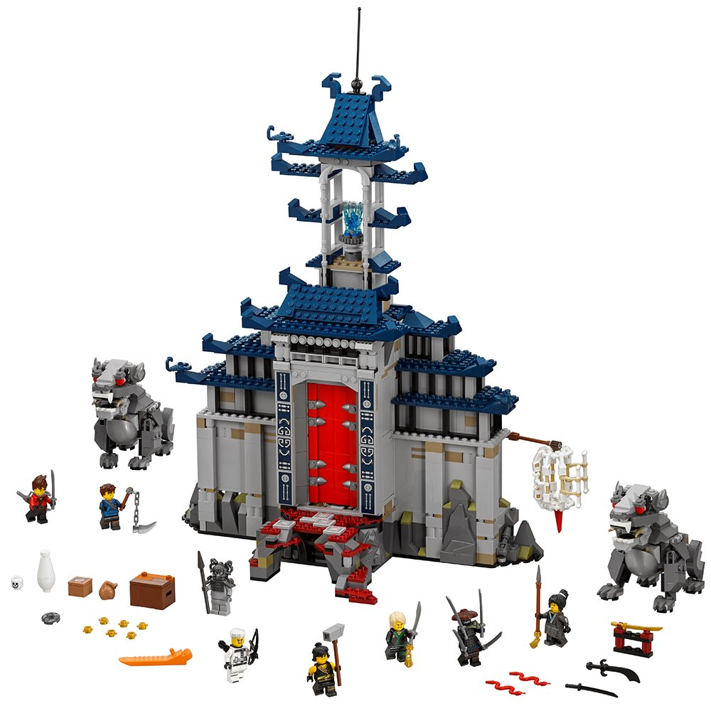 Lego Ninjago Movie Temple Ultimate Ultimate Weapon 70617 Building Kit (1403 Piece) by Lego