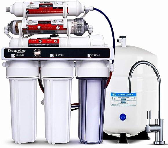 LiquaGen – Residential Under Sink Reverse Osmosis Drinking Water Filter System Standard