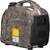 Westinghouse iGen2500 Super Quiet Portable Inverter Generator - TrueTimber Kanati Camouflage - 2200 Rated Watts and 2500 Peak Watts - Gas Powered - CARB Compliant