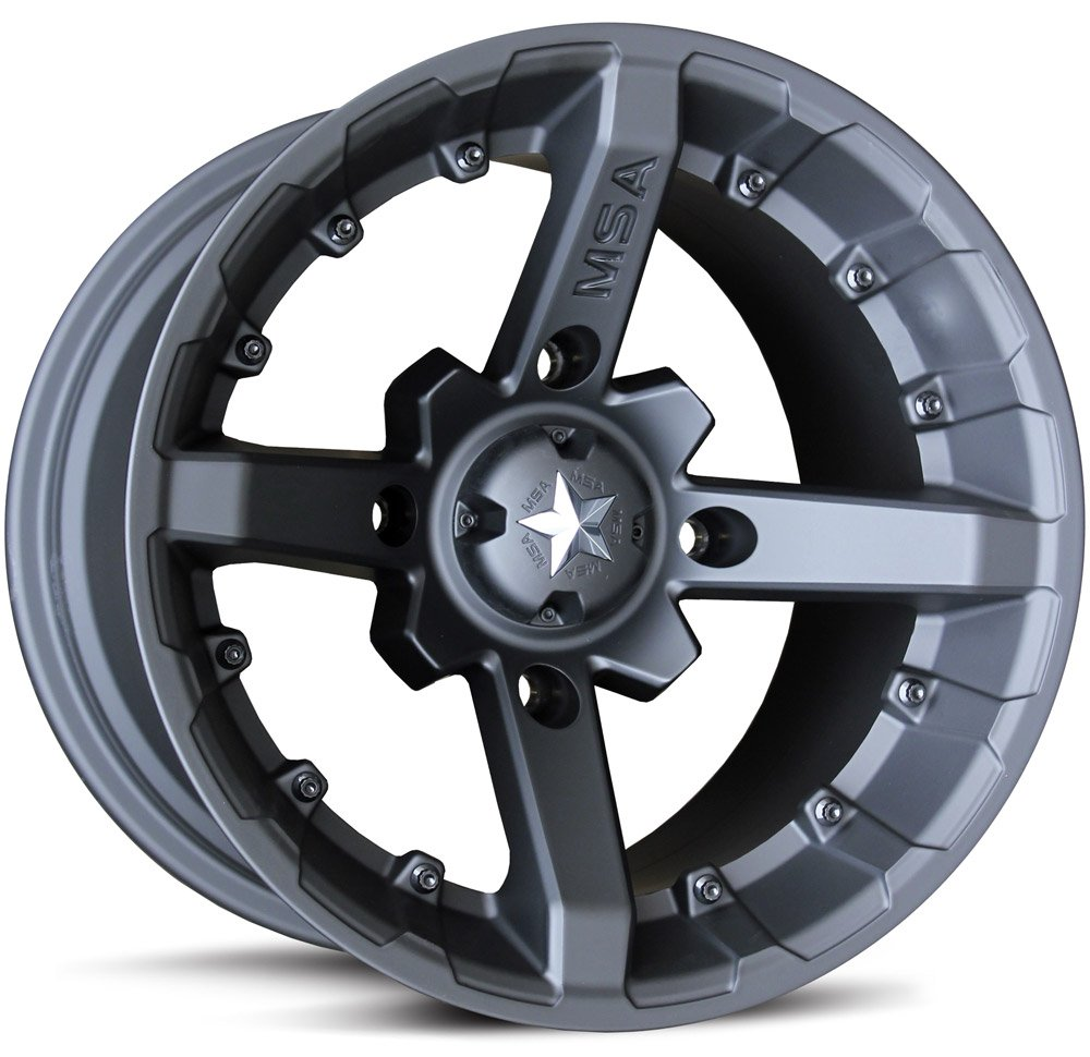 MSA M23 Battle Wheel with Flat Black Paint Finish (14x7/4x137mm)