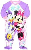 AME Sleepwear Disney Minnie Mouse & Daisy Little Girls Blanket Sleeper Pajama