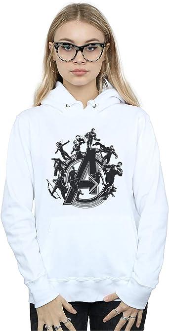 Marvel Femme Avengers Endgame Hero Circle Sweat À Capuche