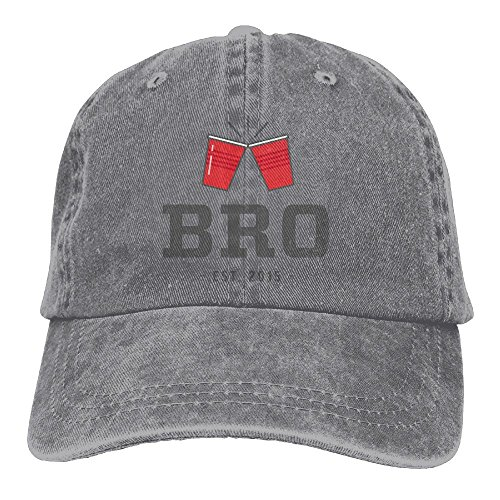 Bro Best Friends Unisex Hipster Denim Jeans Adjustable Baseball Hat Hip-Hop Cap Best Gift For Men Women
