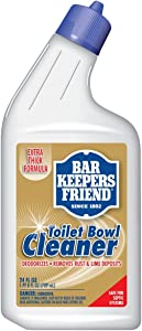 Bar Keepers Friend Toilet Bowl Cleaner - 24 fl oz Each - Extra Thick Formula Cleans and Deodorizes, Removes Rust Stains and Mineral Deposits (1)