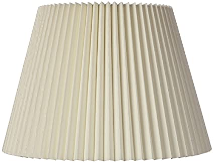 Ivory linen knife pleat lamp shade 9x145x10 spider lampshades ivory linen knife pleat lamp shade 9x145x10 spider aloadofball Gallery