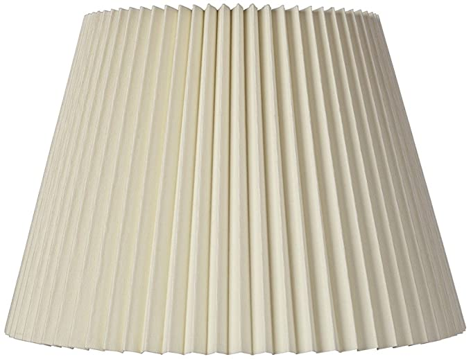 Ivory linen knife pleat lamp shade 9x145x10 spider lampshades ivory linen knife pleat lamp shade 9x145x10 spider mozeypictures Images