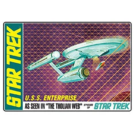 Amazon com: AMT Star Trek USS Enterprise Tholian Web Episode