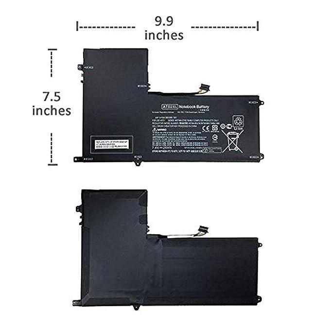 AT02XL AT02025XL D7X24PA D3H85UT 99TA026H Batería del Ordenador Portátil para HP Elitepad 900 G1 Table HSTNN-C75C HSTNN-IB3U HSTNN-DB3U HSTNN-QR03 ...