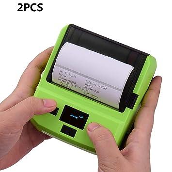 Amazon.com: ZUKN - Impresora térmica de etiquetas de 3.150 ...