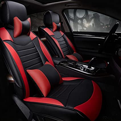 LYC Auto Accessories The New All Inclusive Pu Leather Car Seat Upholstery Covers