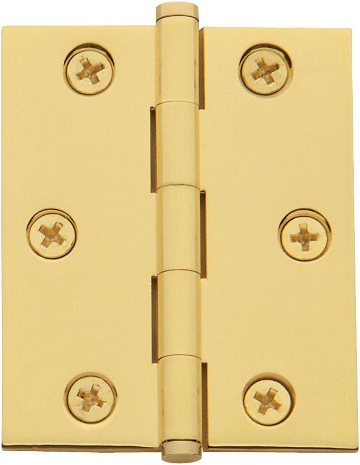 Baldwin Estate 1025.030.BAL Cabinet Hinge in Polished Brass 2.5 x 2