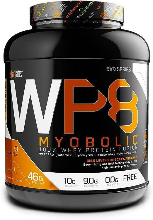 Starlabs nutrition wp8 myobolic 2.0, 2270g - proteina funcional multi-fuente