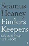 Finders Keepers: Selected Prose 1971 - 2001