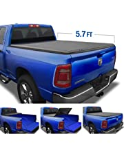 Tyger Auto T3 Tri-Fold Truck Tonneau Cover TG-BC3D1044 Works with 2019 1500 New Body Style | Without Ram Box | Fleetside 5.7' Bed