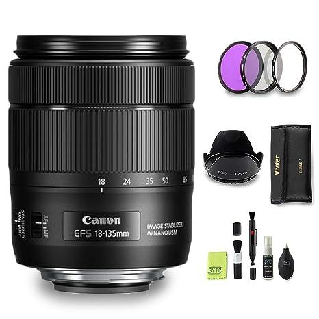 GYTE BUNDLE | Objetivo Canon - EF-S 18-135 mm f/3.5-5.6 IS USM ...