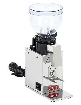 Lelit PL043MMI 150W Acero inoxidable - Molinillo de café (150 W, 2,8 kg, 120 mm, 180 mm, 305 mm): Amazon.es: Hogar