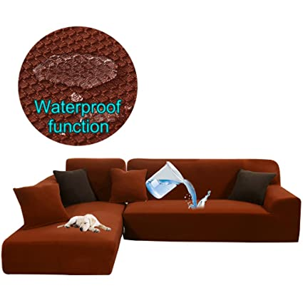 Stupendous Amazon Com Taiyucover Stretch L Shaped Sofa Protector For Dailytribune Chair Design For Home Dailytribuneorg