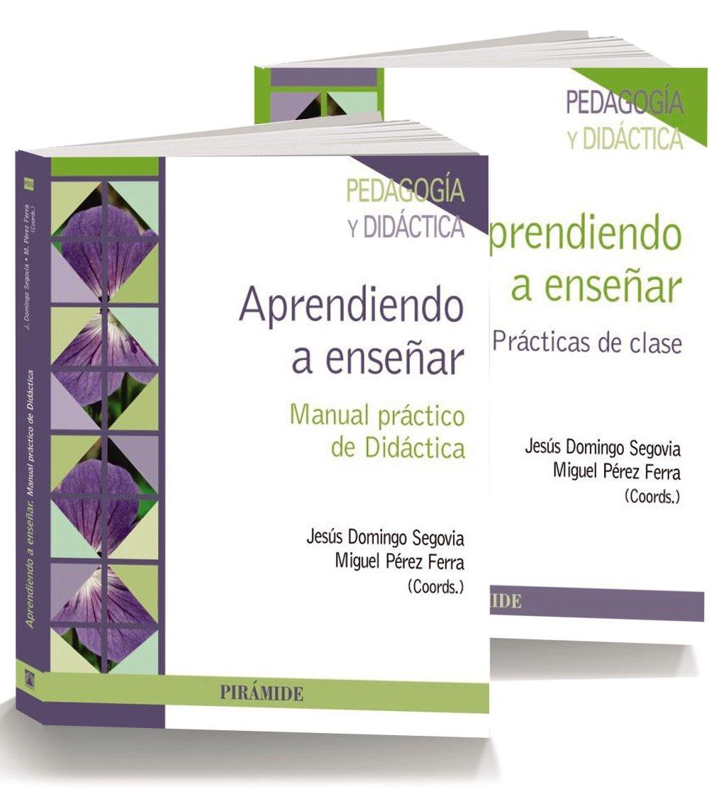 Pack- Aprendiendo a enseñar (Psicología): Amazon.es: Jesús Domingo Segovia, Miguel Pérez Ferra: Libros