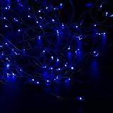 Wannabuy Solar String Lights, 56ft 150 LEDs Outdoor