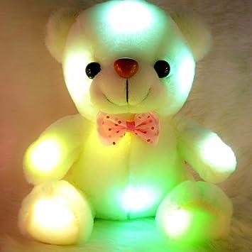 Amazon meiby romanticledplush teddy bear meiby romanticledplush teddy bearled negle Choice Image